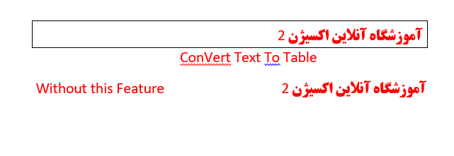 Word Insert Tab Insert Convert Text To Table Example