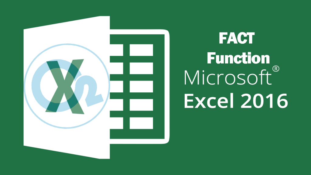 Fact Function On Excel