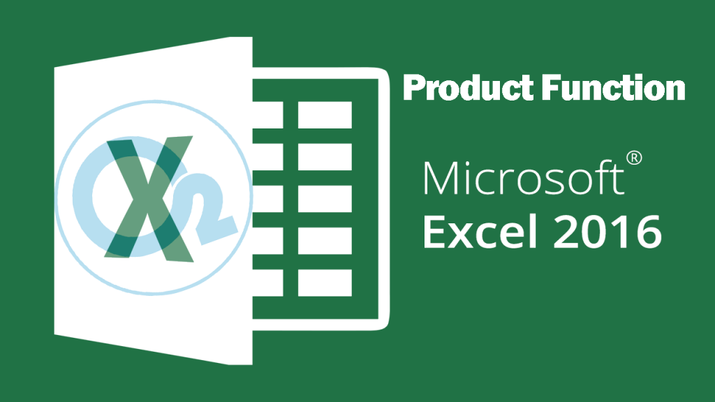 Product Function On Excel