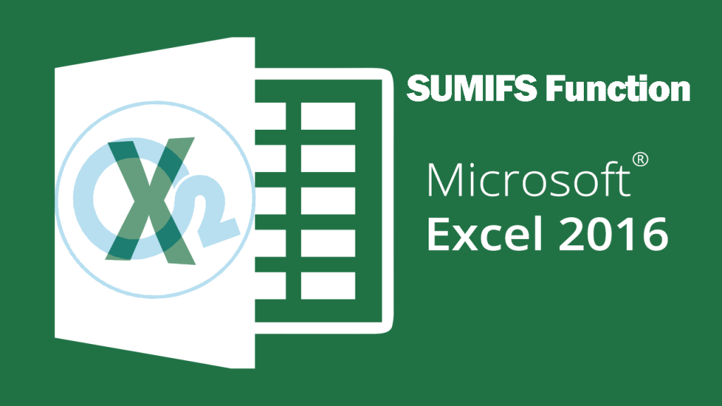 Sumifs Function On Excel