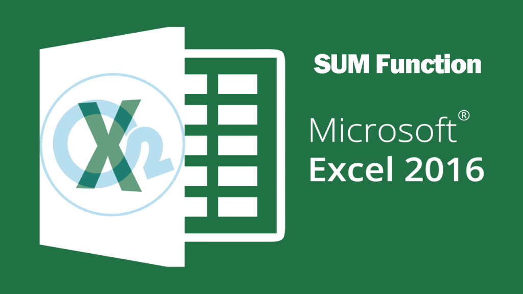 Sum Function On Excel