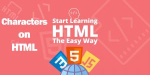 آموزش کاراکترهای خاص در HTML