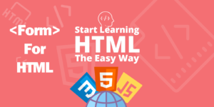 آموزش ساخت فرم عضویت در HTML