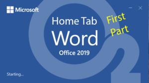 آموزش Word – جلسه چهارم – سربرگ Home – بخش اول