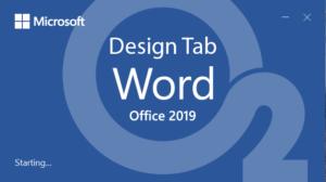 آموزش Word – جلسه ششم – سربرگ Design
