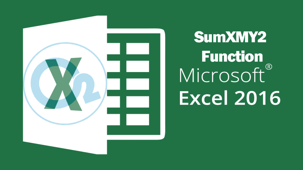 Sumxmy2 Function On Excel