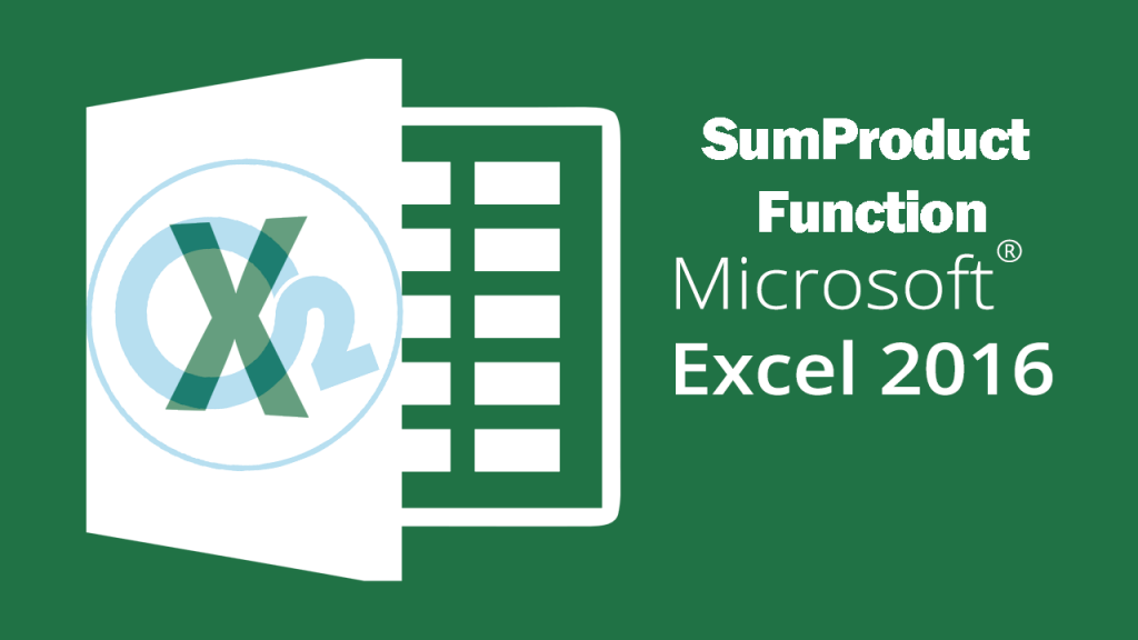 Sumproduct Function On Excel